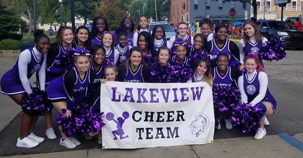 LHS Cheer Team