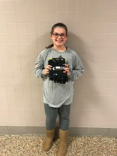 LMS Student Collects Socks for Haven of Rest