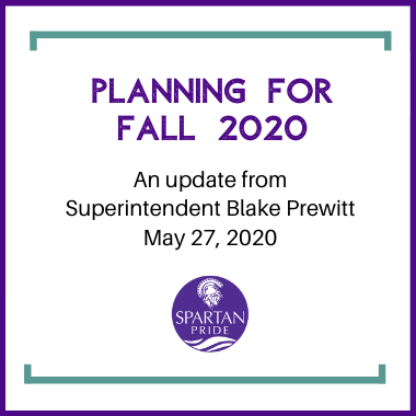May 27 Superintendent Update