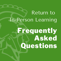 FAQs for In-Person Learning