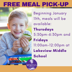 Free Meal Pick-Up