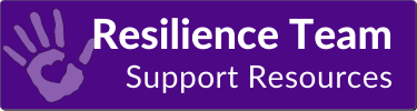 Resilience Team Support Resources