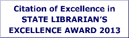 State Librarian's Award